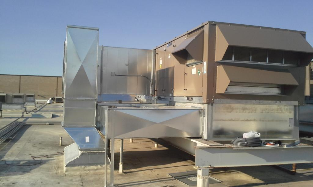 Rooftop Units Duct : Accurate climate services llc