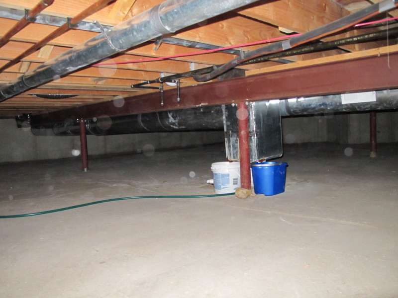Condensate From Furnace Leaking Into Crawl Space