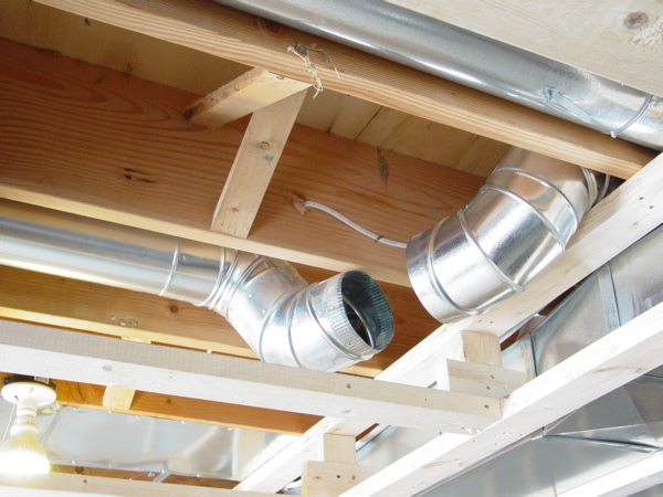 alfa img showing ceilings for basements with ductwork