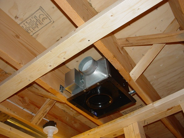 Bath fan exhaust through brick wall - Install bathroom fan duct ...