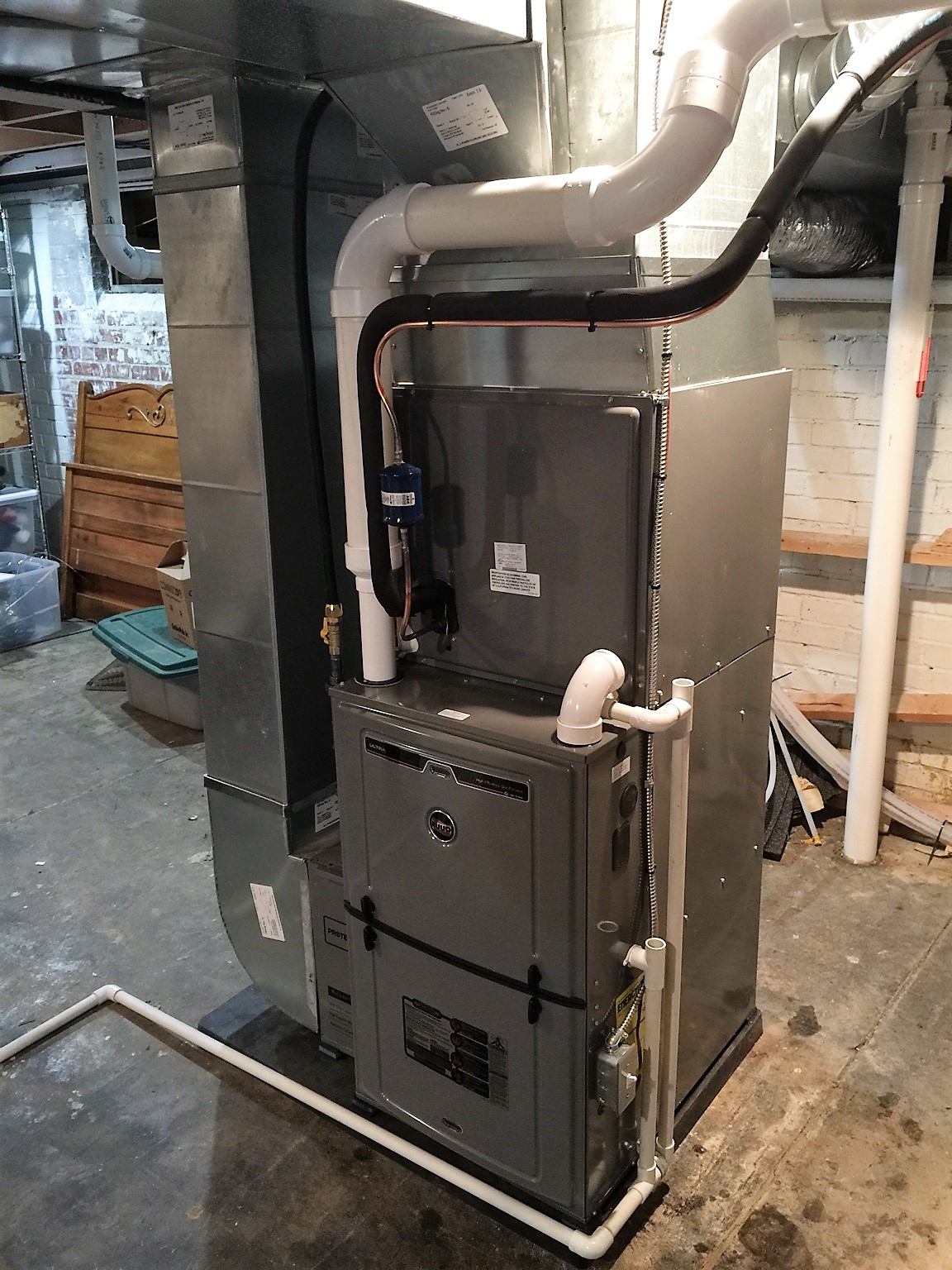 #866745 How To Measure And Make Transitions Between New Furnace  Recommended 2427 Duct Installation Guide pics with 1152x1536 px on helpvideos.info - Air Conditioners, Air Coolers and more