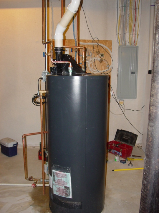 High Efficiency Water Heater Replacement